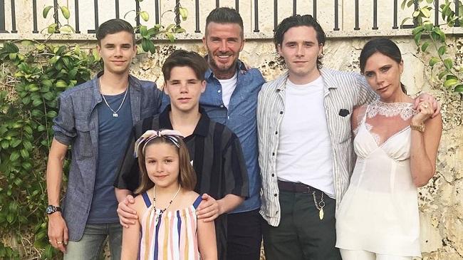 Quy tắc dạy con nghiêm khắc của gia đình Beckham - Victoria