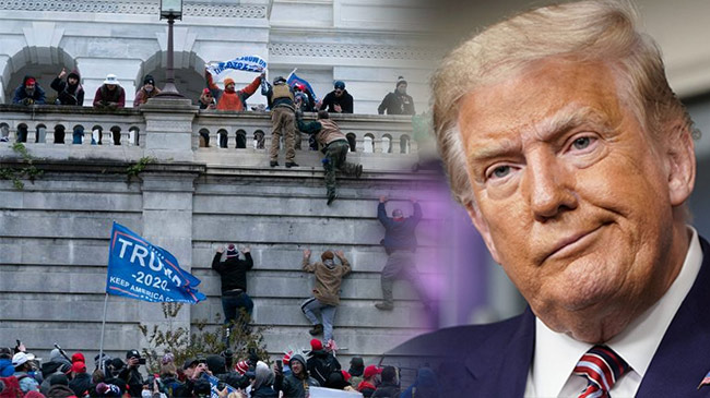 TT Trump bất ngờ đưa ra tuyên bố ''lạ'' sau bạo loạn...