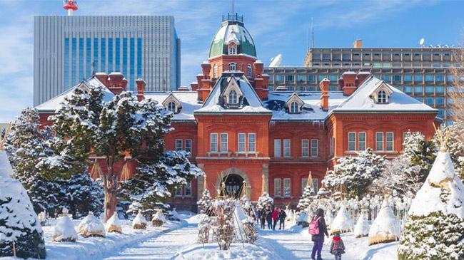 Ghé thăm xứ tuyết thần tiên - quê hương của bia Sapporo...