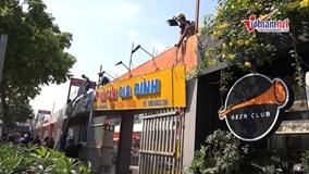 Hà Nội: Cưỡng chế phá dỡ nhiều nhà hàng, công trình vi phạm ở Cầu Giấy