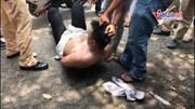 Người dân cùng CSGT vây bắt trộm xe trên phố Sài Gòn