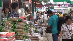 350 gian hàng khắp cả nước dự Hội chợ Xúc tiến thương mại tại Hà Nội