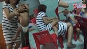 Đà Nẵng: Xôn xao clip bảo mẫu kẹp cổ đút cháo cho trẻ