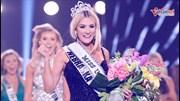Ngắm tân Hoa hậu Mỹ 2018 rạng rỡ phút đăng quang