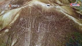 Phát hiện nhiều hình vẽ khổng lồ bí ẩn trên sa mạc ở Peru