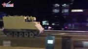 Trộm xe bọc thép buộc cảnh sát rượt đuổi 2 giờ trên cao tốc