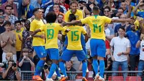 Neymar tái xuất với siêu phẩm, Brazil hạ đẹp Croatia