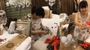 Vợ bầu được chồng bí mật tổ chức sinh nhật và tặng quà xịn