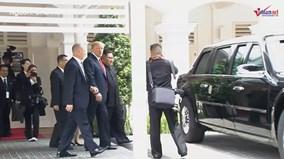 Hành động độc nhất vô nhị TT Trump dành cho ông Kim Jong Un