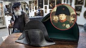 Hàng tỷ đồng cho chiếc mũ bị Napoleon bỏ rơi tại chiến trường Waterloo
