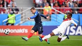 Highlights: Thắng nghẹt thở Peru, Pháp giành vé vào vòng 1/8