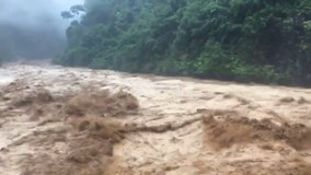 3 người mất tích, nhiều người bị thương do mưa lũ lớn ở Lai Châu