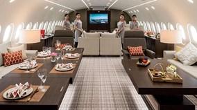 Bên trong 'lâu đài bay' Boeing 787 Dreamliner- chuyên cơ dành cho tỷ phú