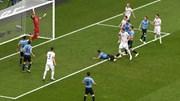 Highlights: Thắng Nga '3 sao', Uruguay giành ngôi đầu bảng A