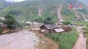 Cảnh tan hoang sau mưa lũ khủng khiếp ở Hà Giang