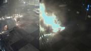 Hà Lan: Xe van lao vào toà soạn báo, bốc cháy dữ dội