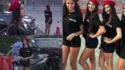 Dàn nữ cảnh sát xinh đẹp, nóng bỏng mặc quần siêu ngắn làm nhiệm vụ