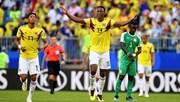 Highlights: Sao Barca lập công, Colombia bay vào vòng 1/8