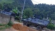 Sơn La: Xe bọc thép cùng hàng trăm cảnh sát đột kích hang ổ ma túy