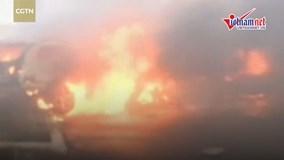 Nổ xe bồn ở Nigeria, ít nhất 9 người chết