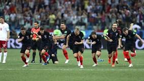 """Highlights: Croatia đoạt vé tứ kết sau màn """"đấu súng"""" nghẹt thở"""