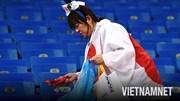 'Tinh thần Nhật' rực sáng trên khán đài sau trận thua lịch sử