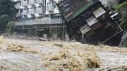 Những hình ảnh tang thương khi Nhật Bản bị nhấn chìm trong mưa lũ
