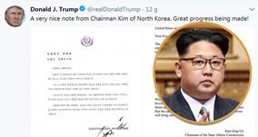 TT Trump tiết lộ bức thư ngập lời ca ngợi của NLĐ Kim Jong Un