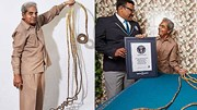 Ông lão 82 tuổi tiếc nuối 'chia tay' bộ móng kỷ lục dài gần 10m