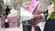 Đám cưới quẹt thẻ thay phong bì lần đầu tiên xuất hiện tại Việt Nam