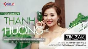 Giao lưu với diễn viên Thanh Hương - phim 'Quỳnh búp bê'