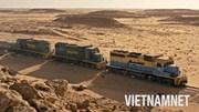 Hành trình vượt sa mạc Sahara của đoàn tàu dài nhất thế giới