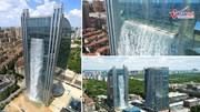 Thác nước cao nhất thế giới giữa trung tâm thành phố
