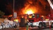 Chợ Gạo Hưng Yên bị thiêu rụi sau vụ cháy kinh hoàng giữa đêm