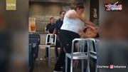 Nhân viên McDonald túm tóc, giật áo, tát khách nữ tới tấp