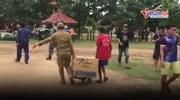 Vỡ đập thủy điện ở Lào: Nhiều đoàn cứu trợ quốc tế liên tục vào vùng rốn lũ