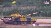 Xe tăng Việt Nam xung trận tại Tank Biathlon 2018