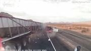 Tài xế ngủ gật gây tai nạn liên hoàn trên cao tốc