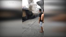 Thùng xe bồn phát nổ khi hàn, người đàn ông tử vong thương tâm