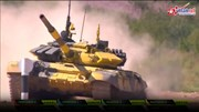Xem xe tăng T-72B3 của Việt Nam drift trong Tank Biathlon 2018