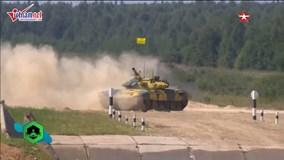 Việt Nam lại phá kỷ lục giải đua xe tăng quốc tế Tank Biathlon 2018