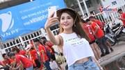 Dàn bóng hồng 'hừng hực khí thế' cổ vũ U23 Việt Nam 'đòi nợ' Thường Châu