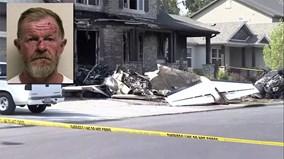 Cãi nhau với vợ, phi công lái may bay đâm thẳng vào nhà mình
