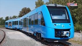 Tàu hỏa chạy bằng khí hydro, thải ra hơi nước đầu tiên trên thế giới