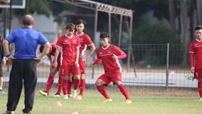 U23 Việt Nam chuẩn bị gì trước trận gặp Nhật Bản?