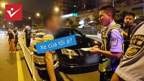 Giải cứu tài xế dừng xe giữa đường và cái kết không thể ngờ