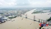 Khung cảnh tuyệt đẹp trên đỉnh cầu dây văng lớn nhất 'made in Việt Nam'