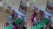 Cô giáo mầm non nhồi nhét thức ăn, đánh trẻ 2 tuổi không tiếc tay