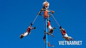 'Chóng mặt' với điệu nhảy giữa không trung của Mexico