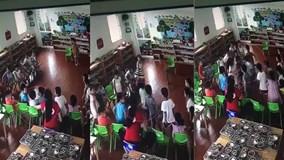 Cô giáo mầm non cho cả chục bé lao vào đánh một bạn trong lớp